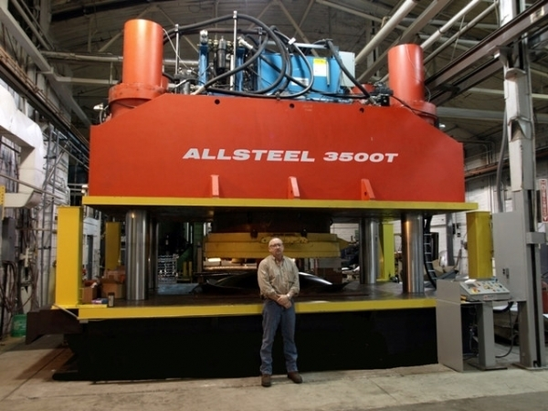 Allsteel Tank Head Press Advantages